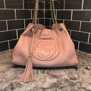 Gucci Pink Soho Chain Bag